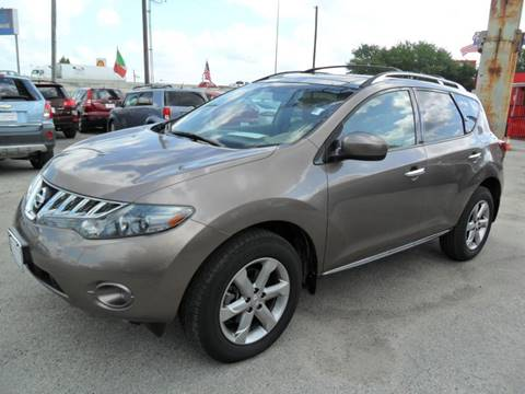 2009 Nissan Murano for sale at Talisman Motor City in Houston TX