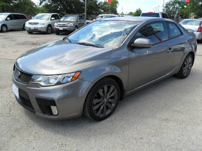 2012 kia forte koup sx 2dr coupe 6a in houston tx. Black Bedroom Furniture Sets. Home Design Ideas
