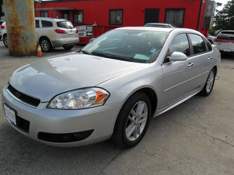 2013 Chevrolet Impala for sale at Talisman Motor City in Houston TX