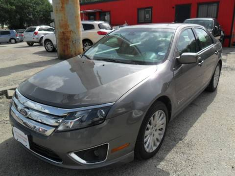 2011 Ford Fusion Hybrid for sale at Talisman Motor City in Houston TX