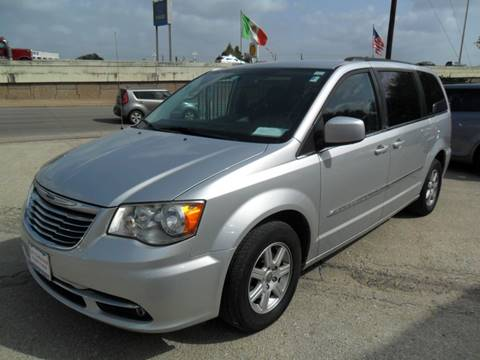 2012 Chrysler Town and Country for sale at Talisman Motor City in Houston TX
