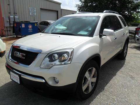 2009 GMC Acadia for sale at Talisman Motor City in Houston TX