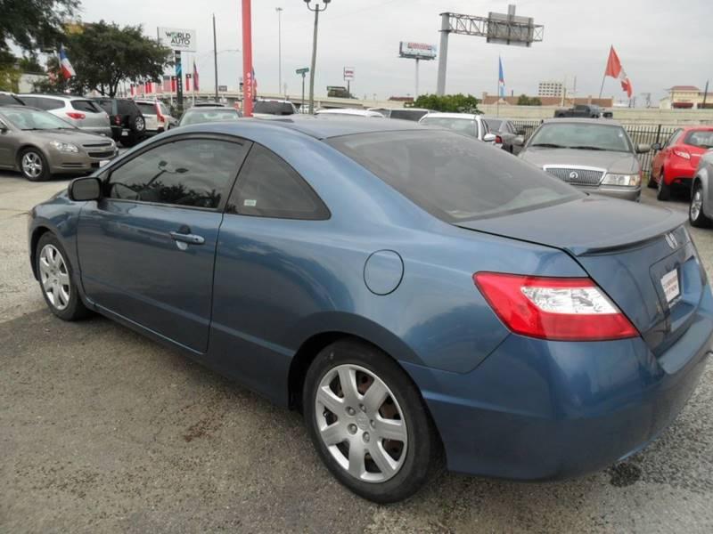 2007 Honda Civic LX 2dr Coupe (1.8L I4 5A) - Houston TX
