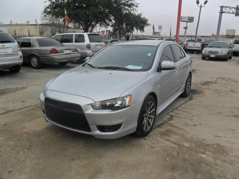 2012 Mitsubishi Lancer ES for sale at Talisman Motor City in Houston TX