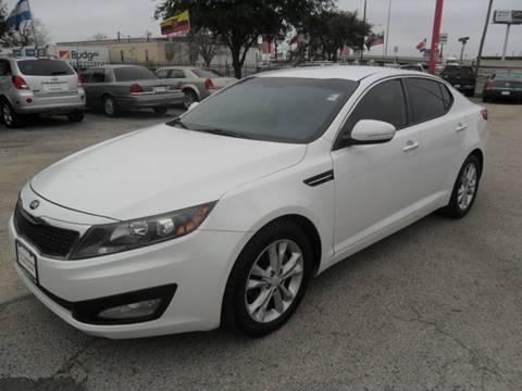 2013 Kia Optima LX for sale at Talisman Motor City in Houston TX