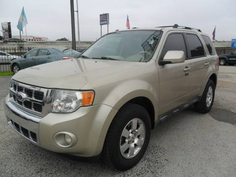 2012 Ford Escape Limited for sale at Talisman Motor City in Houston TX