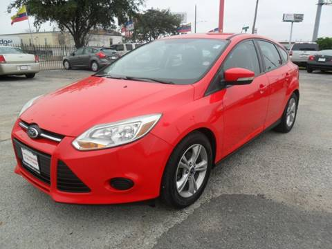 2014 Ford Focus SE for sale at Talisman Motor City in Houston TX