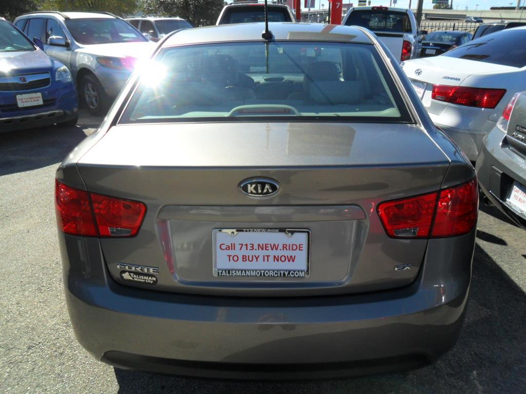 2010 Kia Forte Ex 4dr Sedan 4a In Houston Tx Talisman Motor City