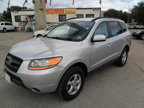 2008 Hyundai Santa Fe for sale at Talisman Motor City in Houston TX