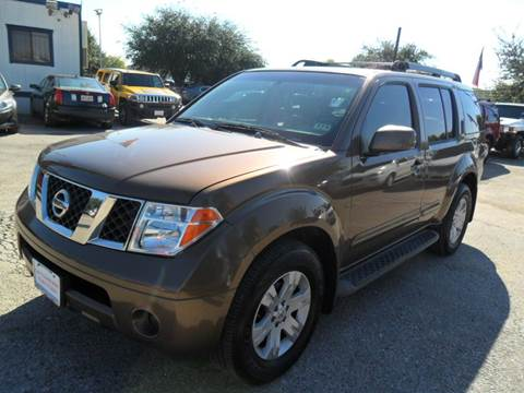 2005 Nissan Pathfinder for sale at Talisman Motor City in Houston TX