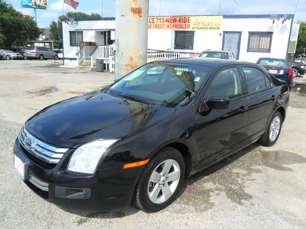 2007 ford fusion v6 se 4dr sedan in houston tx talisman motor city. Black Bedroom Furniture Sets. Home Design Ideas