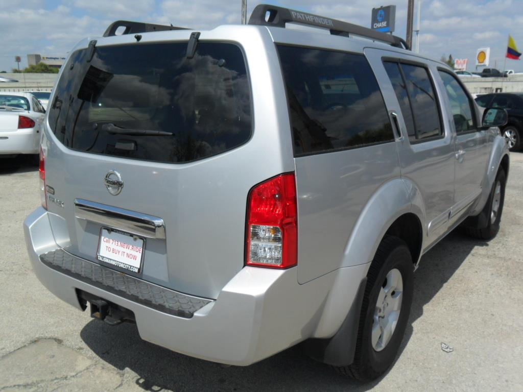 2007 Nissan Pathfinder S 4dr SUV - Houston TX