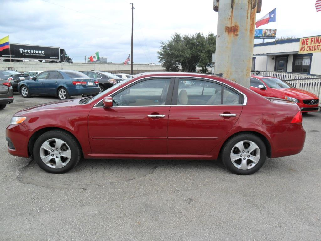 2009 Kia Optima LX 4dr Sedan (I4 5A) - Houston TX
