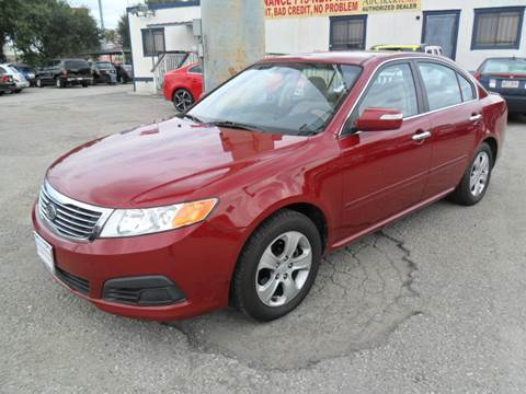 2009 Kia Optima for sale at Talisman Motor City in Houston TX