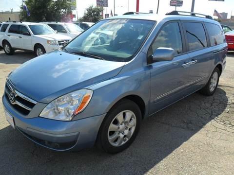 2008 Hyundai Entourage for sale at Talisman Motor City in Houston TX