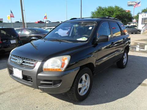 2008 Kia Sportage for sale at Talisman Motor City in Houston TX