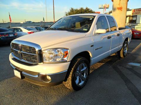 2007 dodge ram pickup 1500 for sale houston tx. Black Bedroom Furniture Sets. Home Design Ideas