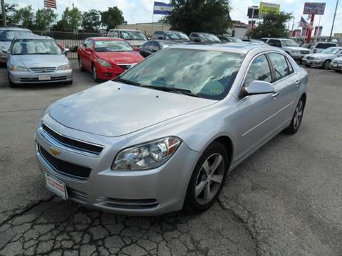 2012 Chevrolet Malibu for sale at Talisman Motor City in Houston TX