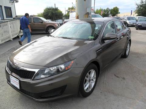 2011 Kia Optima for sale at Talisman Motor City in Houston TX