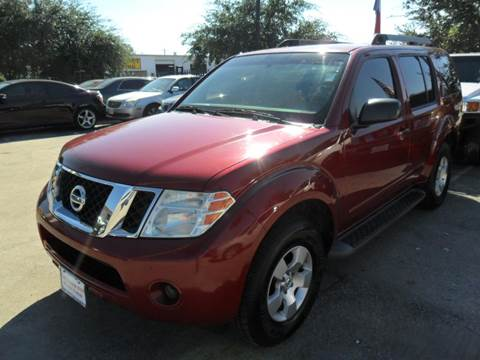 2008 Nissan Pathfinder for sale at Talisman Motor City in Houston TX