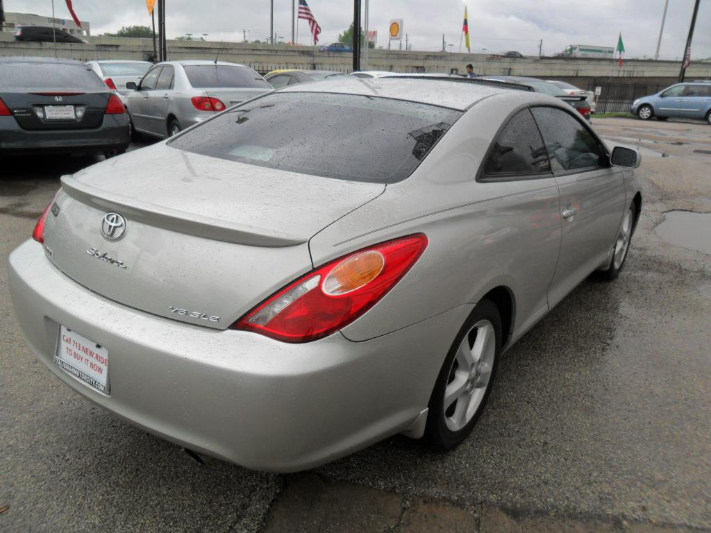 2004 toyota camry solara se sport v6 2dr coupe in houston tx talisman motor city. Black Bedroom Furniture Sets. Home Design Ideas