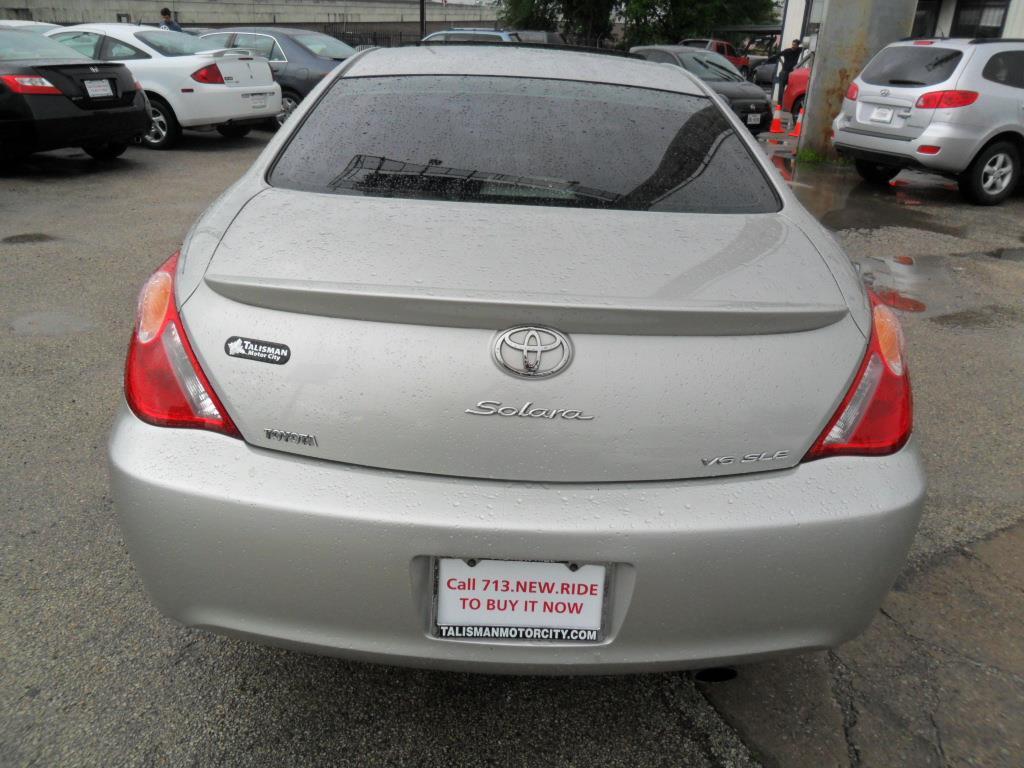 Toyota Houston Tx 2004 Toyota Camry Solara Se Sport V6 2dr Coupe In Houston Tx
