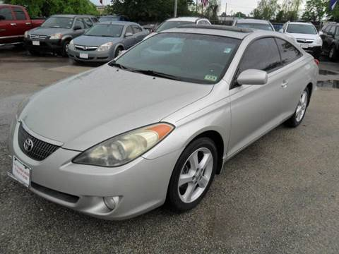 2004 Toyota Camry Solara for sale at Talisman Motor City in Houston TX
