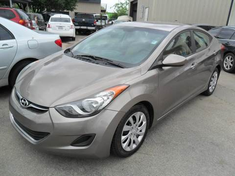 2012 Hyundai Elantra for sale at Talisman Motor City in Houston TX