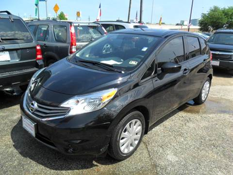 2015 Nissan Versa Note for sale at Talisman Motor City in Houston TX