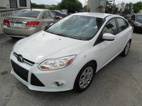 2012 Ford Focus for sale at Talisman Motor City in Houston TX