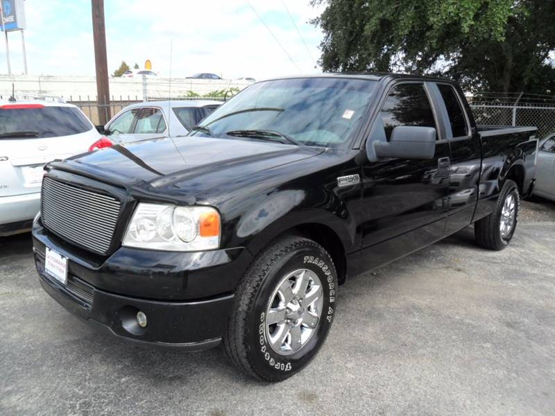 2007 Ford F 150 Stx 4dr Supercab Styleside 6 5 Ft Sb In Houston Tx