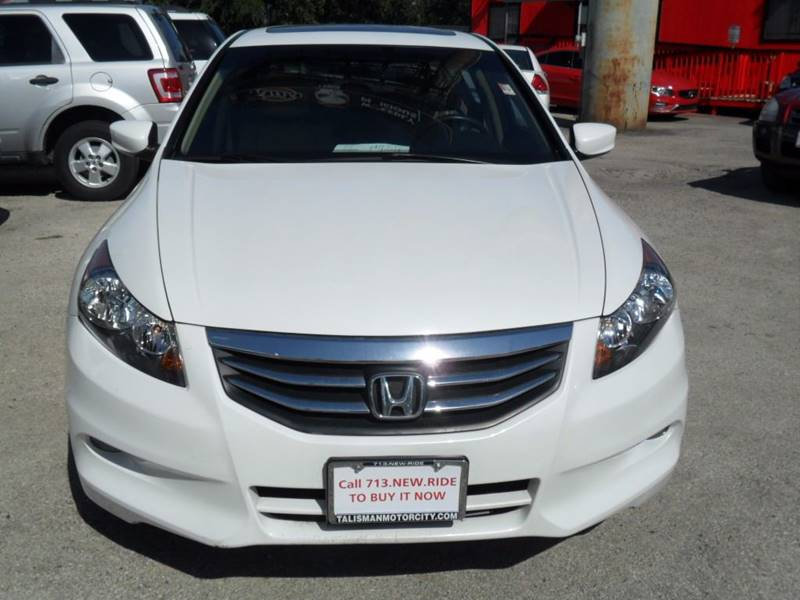 2011 Honda Accord Ex L V6 4dr Sedan In Houston Tx