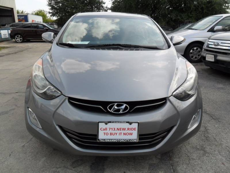 2012 Hyundai Elantra GLS 4dr Sedan - Houston TX
