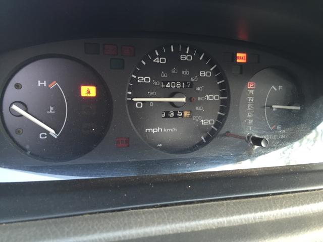 1995 honda civic dx speedometer not working