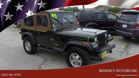 1995 Jeep Wrangler for sale in Davenport, IA
