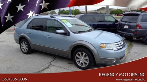 2008 Ford Taurus X for sale in Davenport, IA