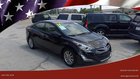 2016 Hyundai Elantra for sale in Davenport, IA