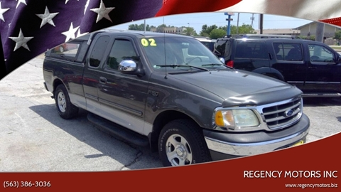 2002 Ford F-150 for sale in Davenport, IA