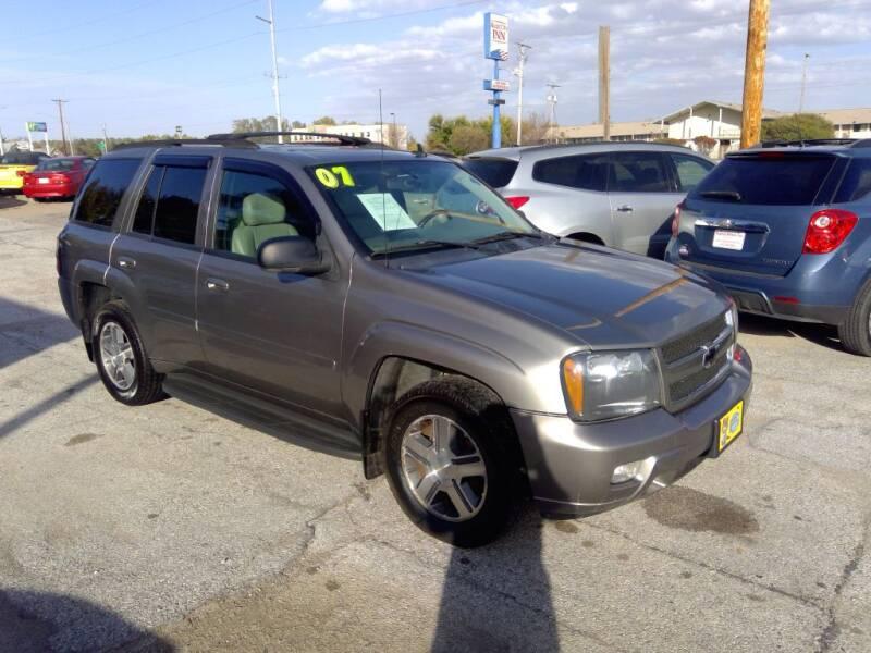 2007 Chevrolet TrailBlazer for sale at Regency Motors Inc in Davenport IA