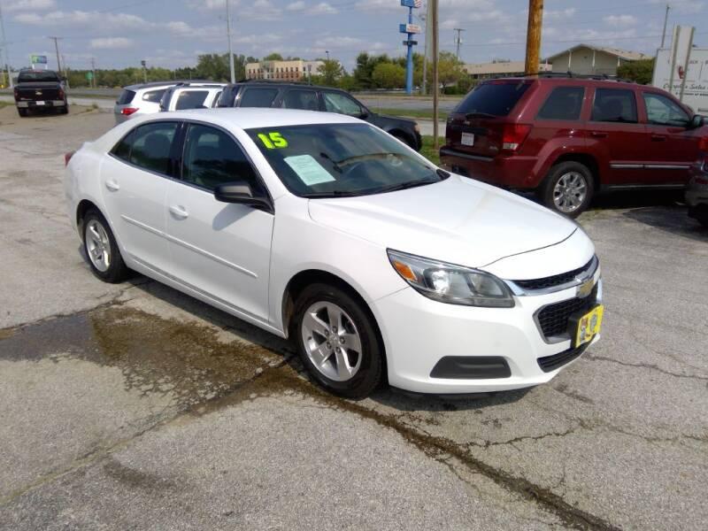 2015 Chevrolet Malibu for sale at Regency Motors Inc in Davenport IA