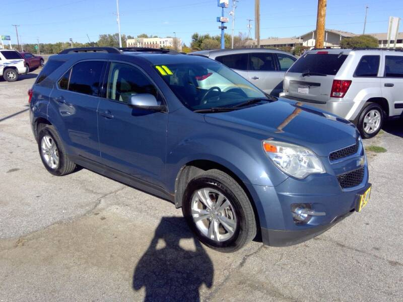 2011 Chevrolet Equinox for sale at Regency Motors Inc in Davenport IA