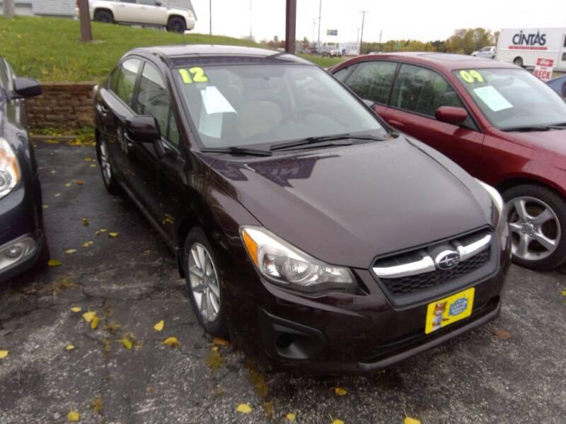 2012 Subaru Impreza for sale at Regency Motors Inc in Davenport IA