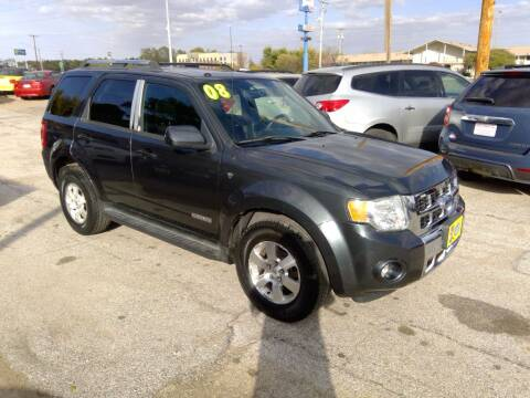 2008 Ford Escape for sale at Regency Motors Inc in Davenport IA