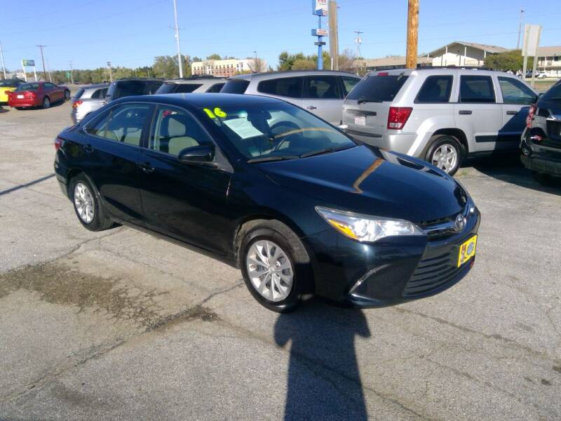2016 Toyota Camry for sale at Regency Motors Inc in Davenport IA
