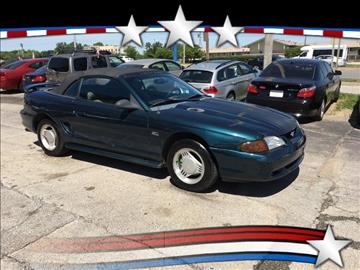 1994 Ford Mustang for sale at Regency Motors Inc in Davenport IA