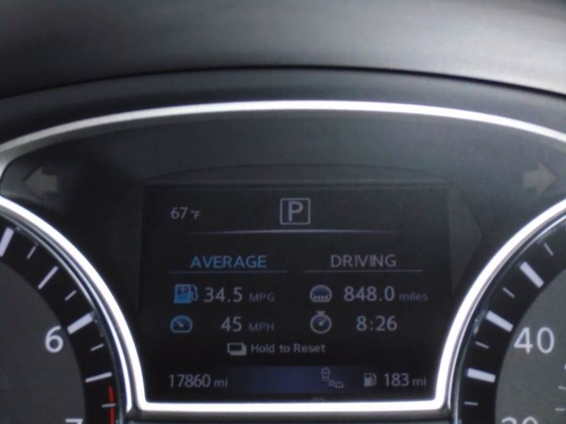 2017 Nissan Altima 2 5 SV 4dr Sedan (midyear release) In Dallas TX
