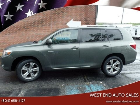2009 Toyota Highlander for sale in Richmond, VA