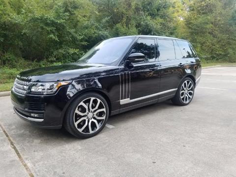 2016 Land Rover Range Rover for sale in Bonham, TX
