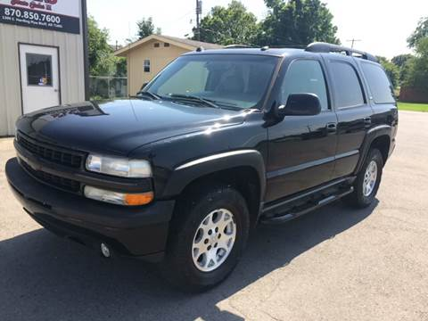 2005 Chevrolet Tahoe for sale at Elders Auto Sales in Pine Bluff AR