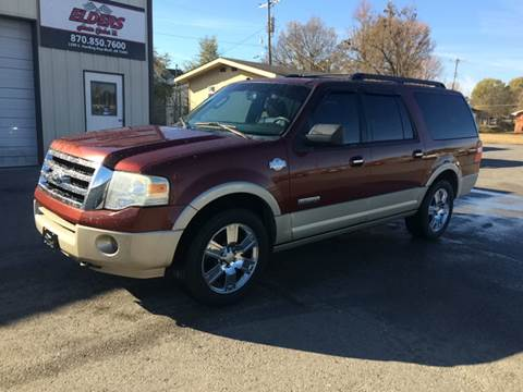 2008 Ford Expedition EL for sale at Elders Auto Sales in Pine Bluff AR